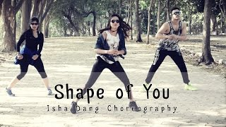 Shape of You | Ed Sheeran | Isha Dang Choreography | Dance Fit Live