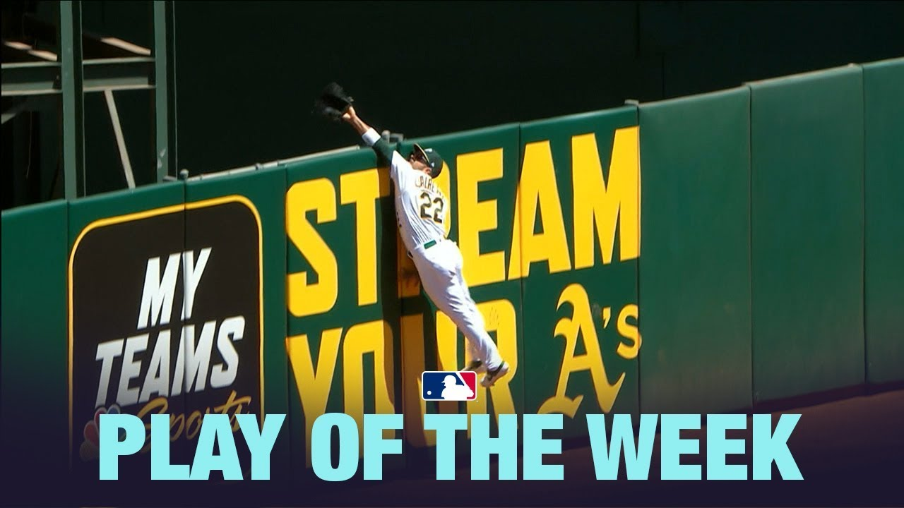 Laureano's  incredible HR robbery is the Play of the Week!