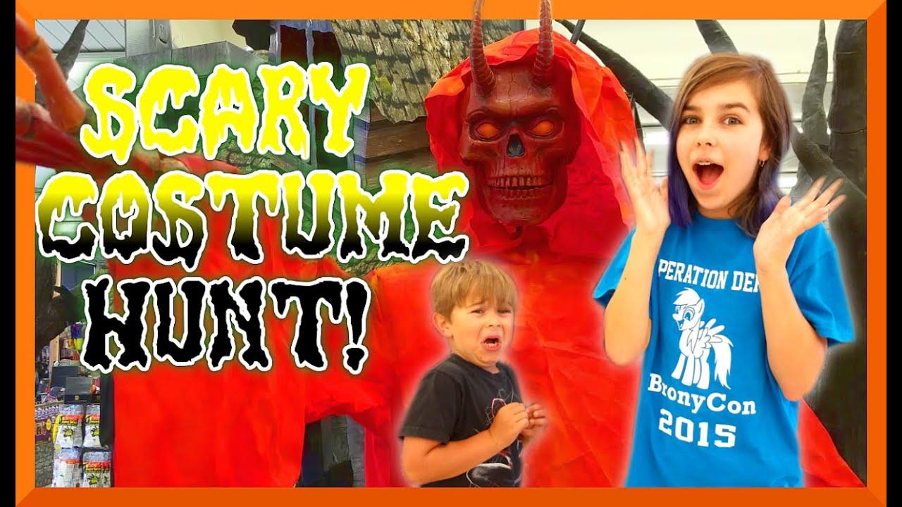 halloween costume shopping hunt scary decorations descendants pokemon more youtube