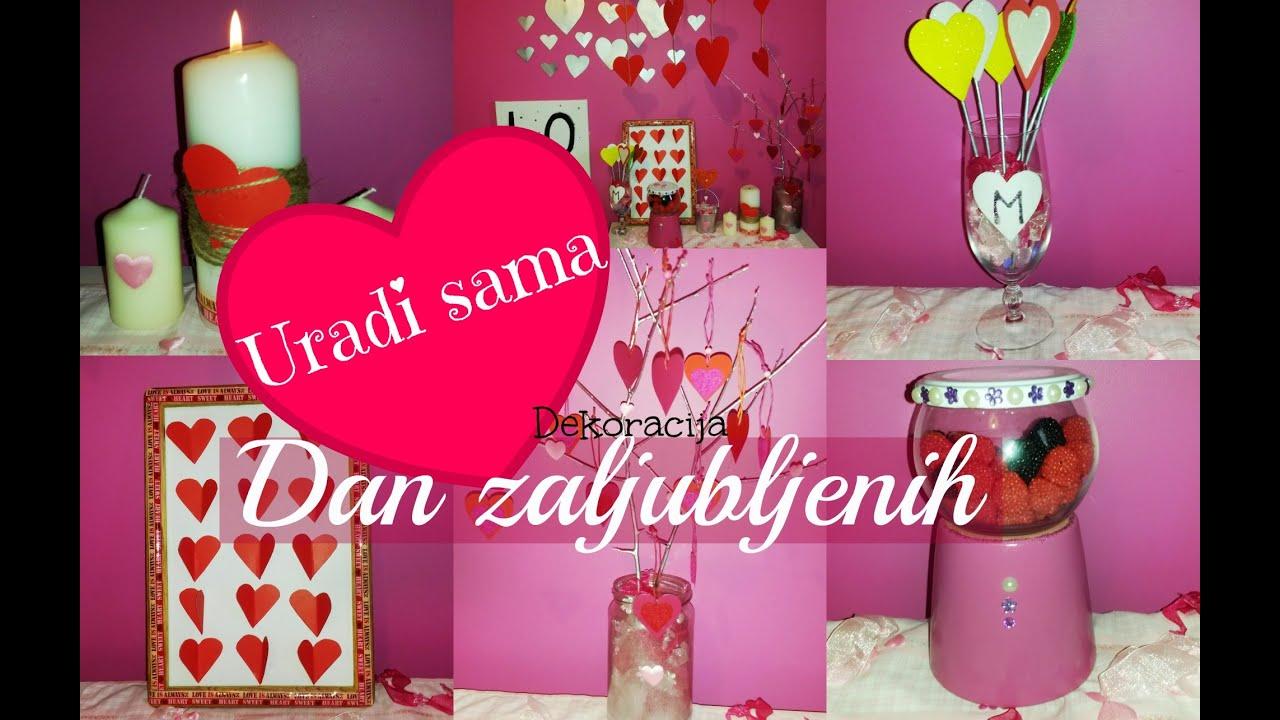 Dekoracije za sobu / DIY ideje Dan Zaljubljenih - YouTube