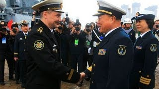 January 2014 China And Russia War exercises Japanese waters - last days end times news update