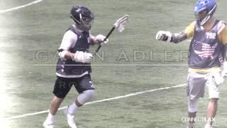 Gavin Adler Summer of 2016 Lacrosse Highlights D/LSM (Marquette Commit)