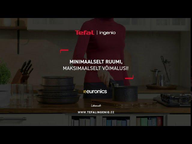 Tefal Ingenio  tutvustus