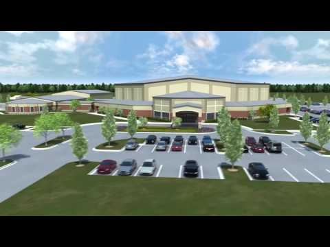 Mercy Gate Church - 3D Animation - Mont Belvieu, TX