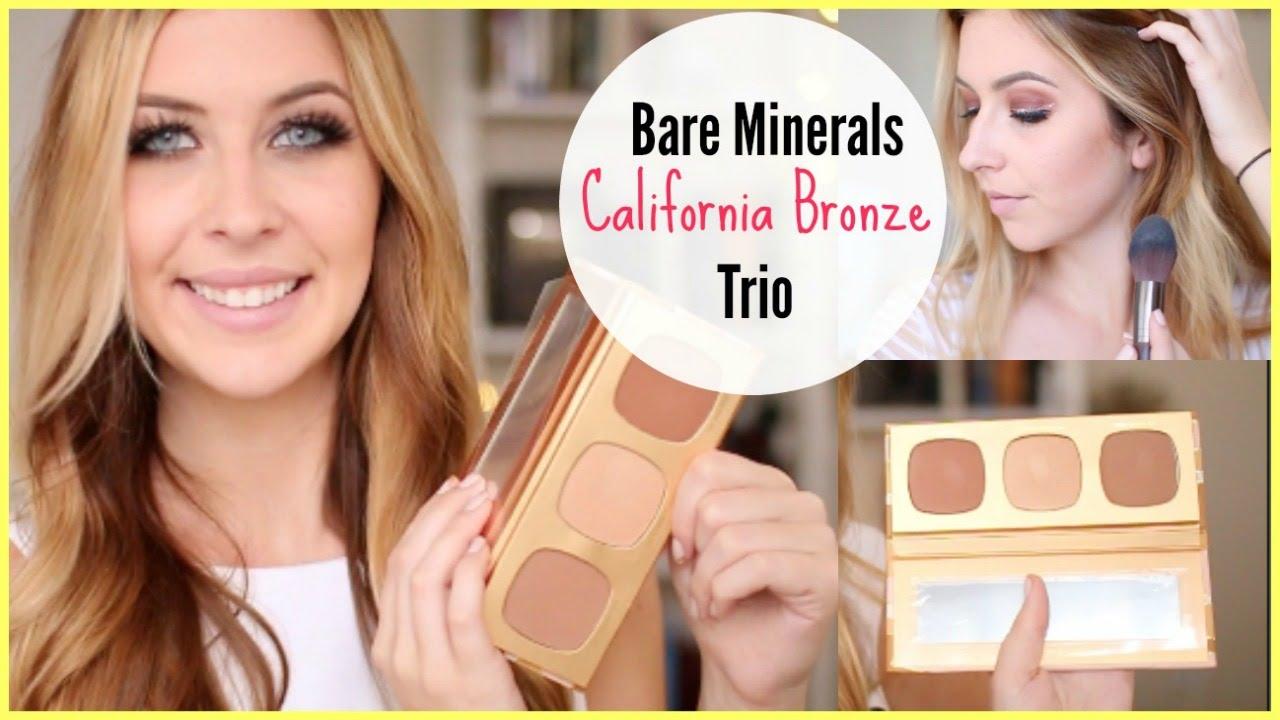 Bare Minerals California Bronze Trio Review