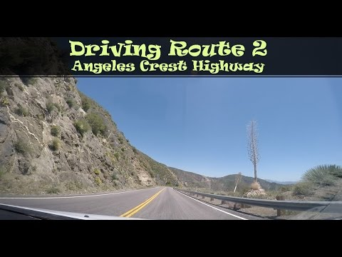 #119 Driving Route 2, Angeles Crest Highway (2/4)
