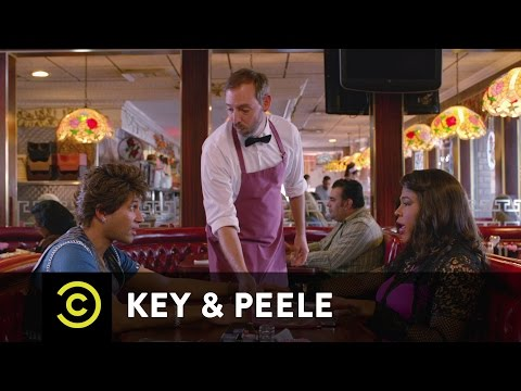 Key & Peele - Andre and Meegans First Date  - Uncensored