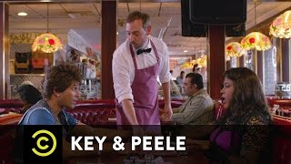 Key & Peele - Andre and Meegan's First Date  - Uncensored
