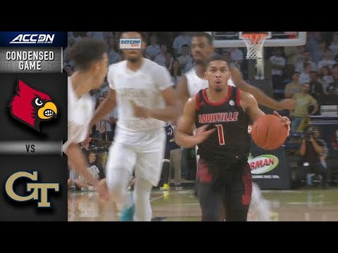 Louisville vs. Georgia Tech Condensed Game | 2018-19 ACC Basketball