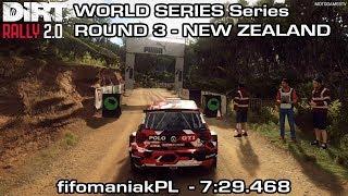 DiRT Rally 2.0 World Series - Round 3 New Zealand - VW Polo GTI R5 - fifomaniakPL (7:29.468)