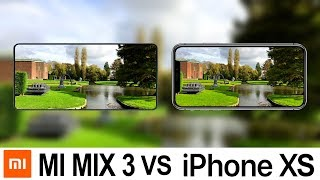 Xiaomi Mi Mix 3 Vs iPhone XS Camera Test