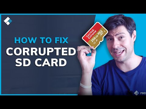 SD Card Repair: How To Fix Corrupted SD Card?