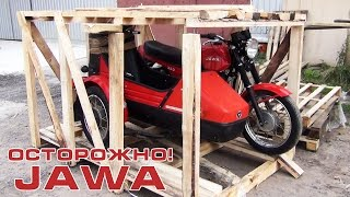 Осторожно! JAWA 350/638 'Люкс' с коляской Velorex 700