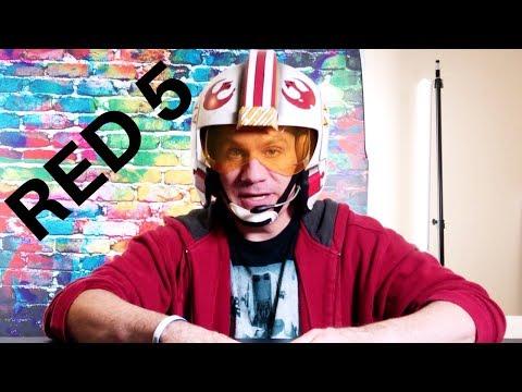 Star Wars Luke Skywalker black series helmet unboxing