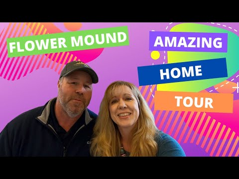 Moving To Flower Mound TX?  New Model Home Tour, See What Its Like Living In Flower Mound Texas