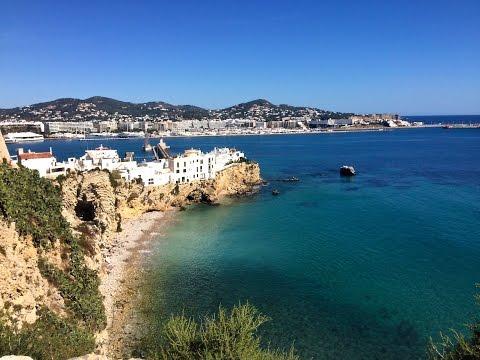 Ibiza Eivissa - The old town and harbor