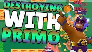 DESTROYING Pro teams with PRIMO! Brawl Stars Brawl Ball