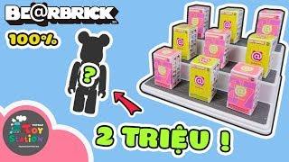 Lần đầu sưu tập Bearbrick mở được siêu hiếm trị giá hơn 2 triệu đồng ToyStation 354