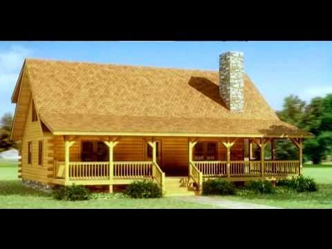 Casas de madera maciza modelo valle en 3d youtube - Casas de madera en alcorcon ...