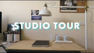 ART STUDIO & WORKSPACE TOUR
