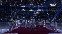 Liigan Suomi 100 -ottelut käynnistyivät upeasti – katso Turun tyylikkäät juhlallisuudet