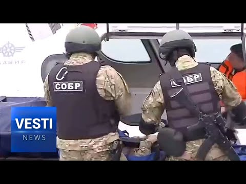 Hovercrafts and Body Armor! Exercises at Crimean Bridge Incorporate Sci-Fi Tech