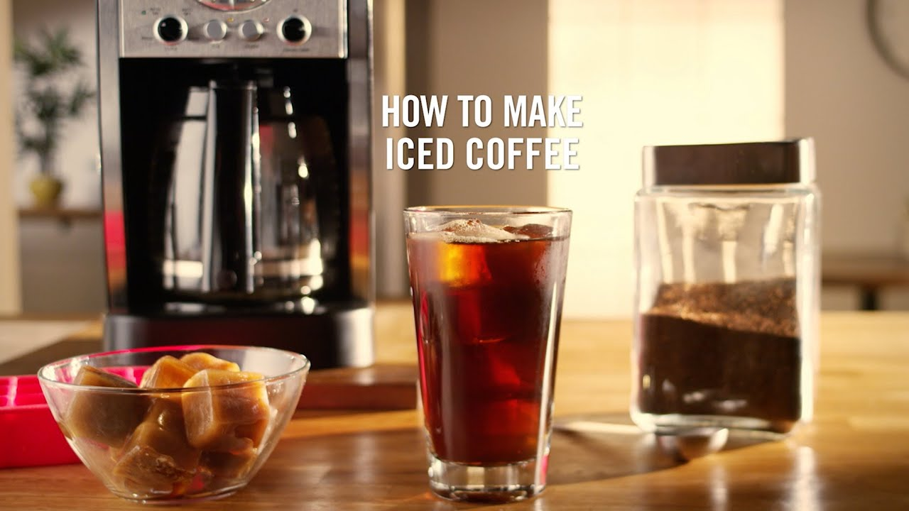 how to make iced coffee for later