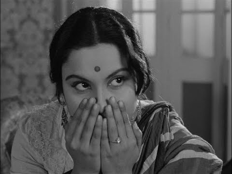 "Madhabi Mukherjee  with Satyajit "" MUKHOMUKHI "" JU Radio 90.8fm , "" CHARULATA """