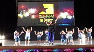 "Барбарики "" Моем- моём"". Kids Show by Алина Батекина All Stars Birthday Party  2015"