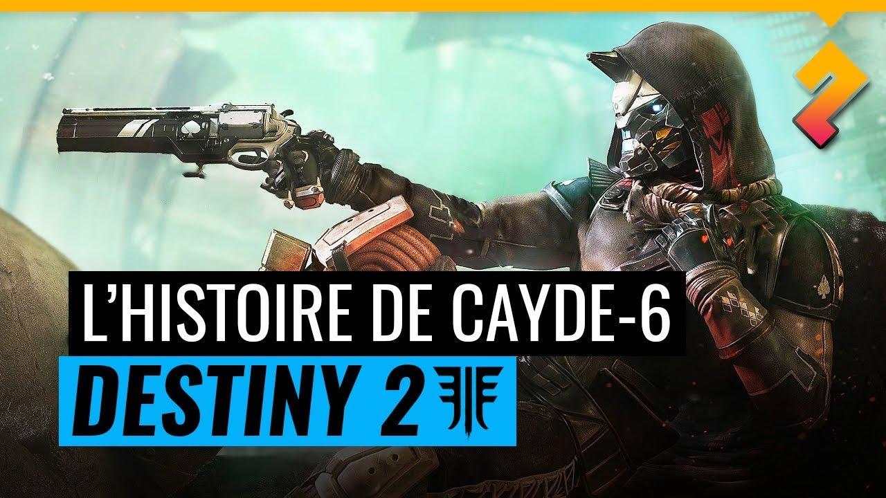 Destiny 2 -  L'histoire (tragique) de Cayde-6