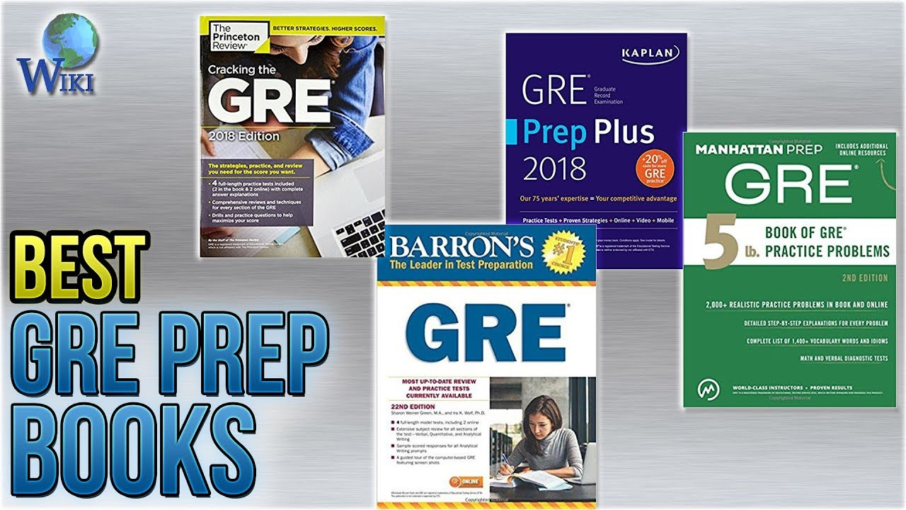 Best Gre Prep Book 2020.6 Best Gre Prep Books 2018