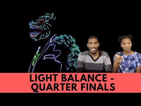 Light Balance: Glowing Dance Crew Illuminates the AGT Stage - America's Got Talent 2017 Reaction!!