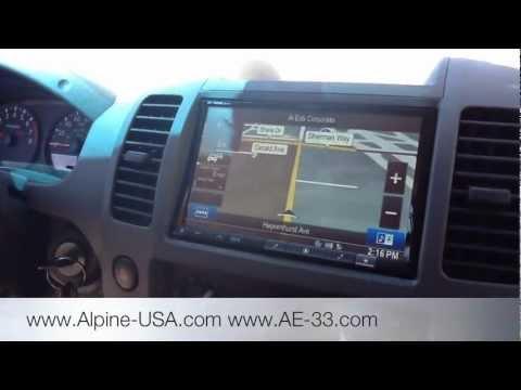 2009 Nissan Xterra / Frontier INE-Z928HD Navigation ...
