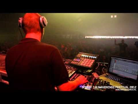 Speedy J @ Awakenings Festival 2012