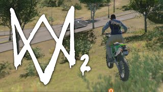 Watch Dogs 2 Bike Race Gameplay