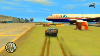 BACK TO GTA IV! Airport Ramps & Randomness With The Crew!