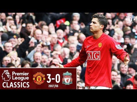 Ronaldo stars as United beat 10-man Liverpool   Manchester United 3-0 Liverpool (2008)   Classics