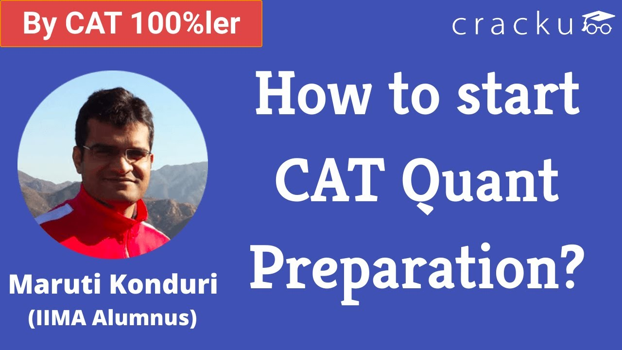 How to start CAT Quant Preparation? #shorts