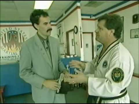 Borat – Karate Lessons & American Hobbies