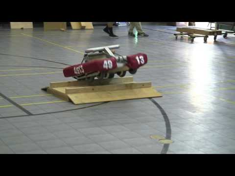 Huskyteers - Robotics Team Practice 2016 (Fairmont Preparatory Academy)