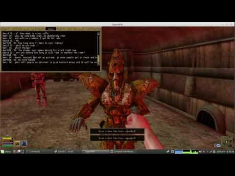 Fun times in Morrowind multiplayer : tes3mp