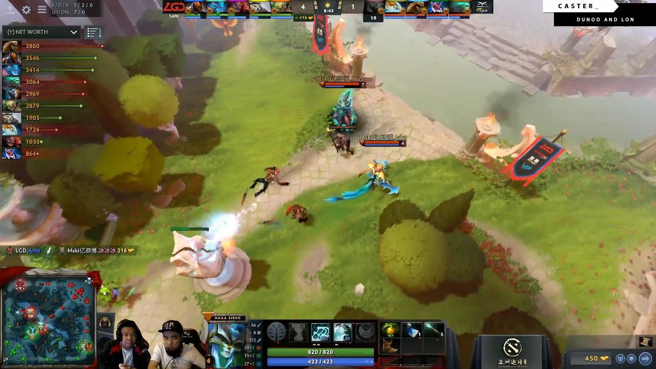 Mineski vs LGD | Best of 5 | Game 5 | Dota 2 Asia Championship Grand Finals