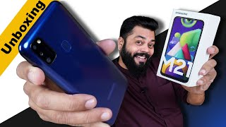 Samsung Galaxy M21 Unboxing & First Impressions ⚡⚡⚡ 6000mAh Battery, 48MP Cameras And More