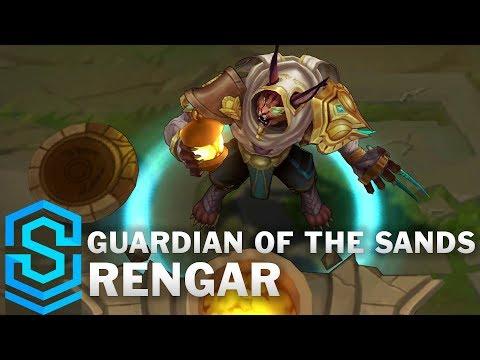 Guardian Of The Sands Rengar Skin Spotlight - Pre-Release - League Of Legends