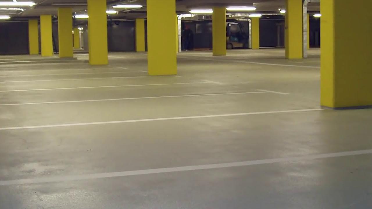 Podlaha V Garáži   Sikafloor 264 Thixo   YouTube