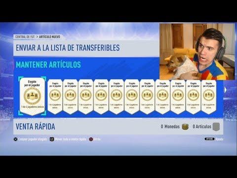 ¡ABRO +70 MEJORAS de PLAYER PICKS A POR MESSI Y CRISTIANO CHAMPIONS! - MIKING