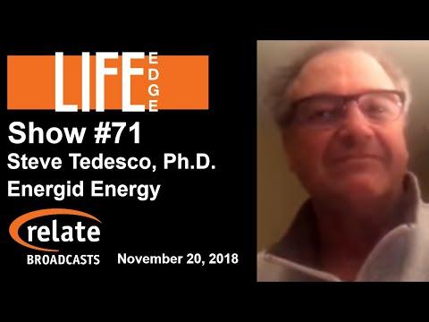 Life Edge #71:  Steve Tedesco, Ph.D., Energid Energy Inc.