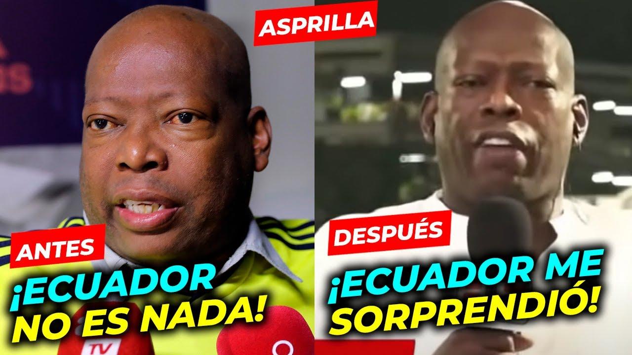Download COLOMBIA VS ECUADOR 1 -1 FAUSTINO ASPRILLA ECUADOR ME SORPRENDIO   ELIMINATORIAS MUNDIAL CATAR 2022