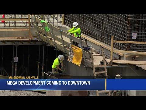 Mega Development Coming To Downtown Nashville