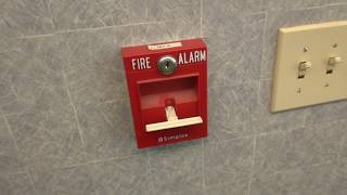Testing the Fire Alarms at my dads Kingsport office 5/11/18